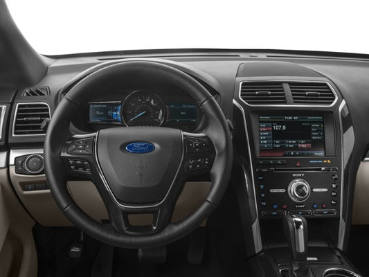 2017 Ford Explorer Limited Silver
